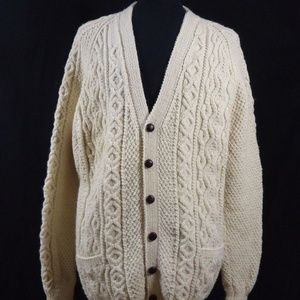 Avoca Collection Heavy Knit Cardigan Warm, Mori